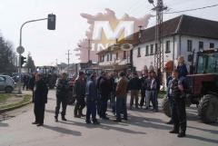Protest mačvanskih poljoprivrednika