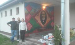 Janko Veselinović na umetničkom ćilimu