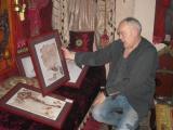 Priprema slike za izložbu u Beču