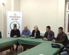 Koalicija Za pravednu Mačvu predstavila kandidate za odbornike