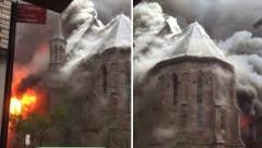 Изгорела црква Светог Саве у Њујорку