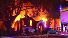 Пожар у македонској цркви у Сиднеју