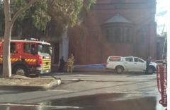 Пожар у грчкој цркви у Мелбурну