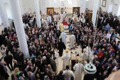 Патријарх и владике у Призрену, освештана Богословија