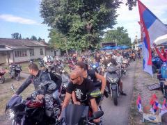 Treći moto skup – defile motociklista u Badovincima
