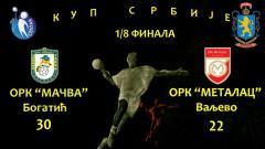 Nova pobeda ORK Mačva za prolaz u četvrtfinale Kupa Srbije