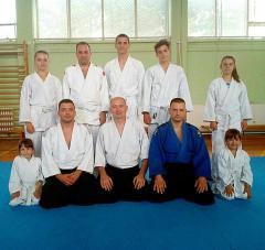 Polaganje za kyu zvanja Aikido kluba Šon u Bogatiću