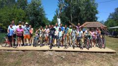 Učesnici Ivanjdanske Biciklijade