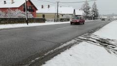 Prvi sneg u Mačvi