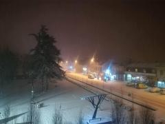 Mačva pod snegom - Tokom noći povećanje snežnog pokrivača