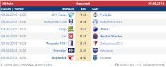 Međuopštinska liga - rezultati 30.kola
