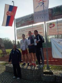 Sprinterima tri medalje uz pet ličnih rekorda