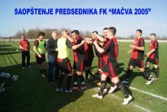 """Saopštenje predsednika FK """"MAČVA 2005"""""""