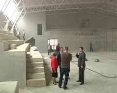 Završni radovi na izgradnji sportske sale u Bogatiću