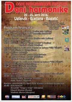 "Otvoren festival ""Dani harmonike"" u Bogatiću"