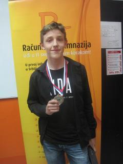 Davidu Milinkoviću srebrna medalja