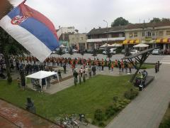 Maturantska parada u Bogatiću
