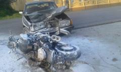 Saobraćajna nezgoda - povređena dva lica