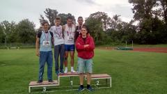 Tri zlata i jedna bronza za atletičare Sprinta