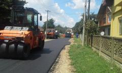 Пресвлачење краћих деоница локалних путева у општини Богатић
