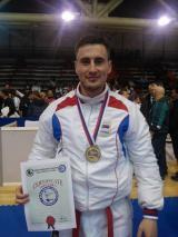 Mladen Berić  prvak Balkana u karateu