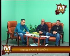 Emisija: SPORT U MAČVI - FUDBAL