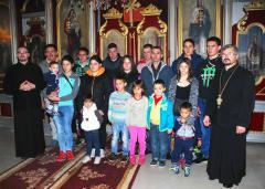 Крштено 15 чланова породице Делић у Дубљу