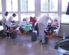 Na akciji u Crnoj Bari prikipljeno 43 jedinica krvi