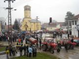 Blokada u centru Badovinaca