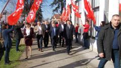 Dačić u Bogatiću pozvao socijaliste da glasaju za Vučića