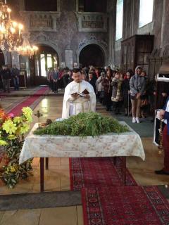 Света Литургија на празник Цвети