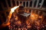 Благодатни огањ из Јерусалима у Богатићу